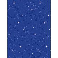 Fadeless 0056228 Night Sky Design Bulletin Board Papers 3.5 Height 3.5 Width 48.75 Length [並行輸入品]