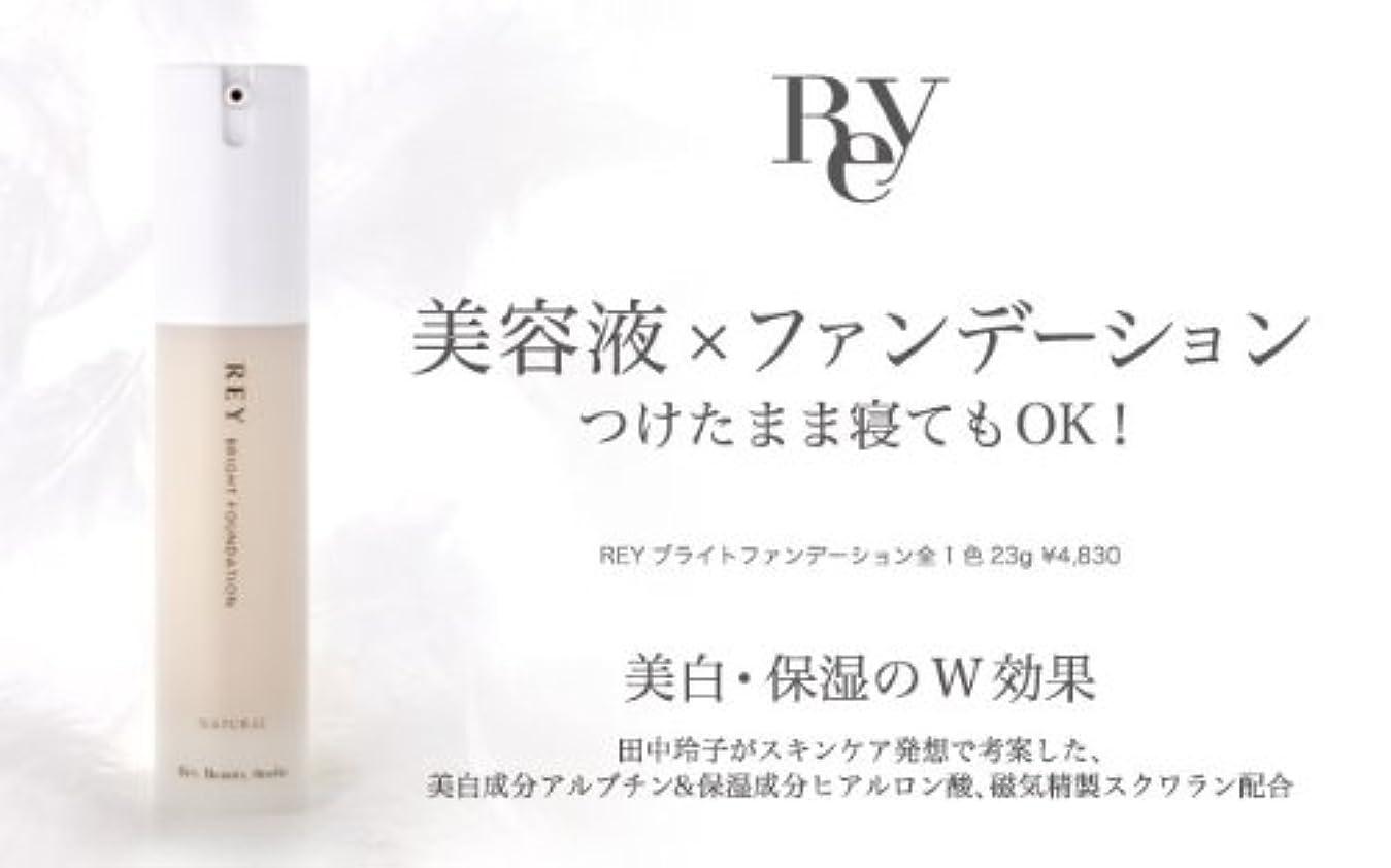 節約する好き幻滅REY レイ ブライトファンデーション 23g ライトナチュラル 【リキッド】