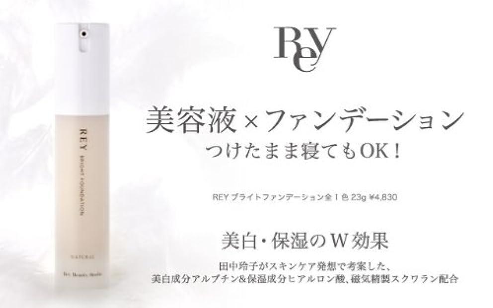 病んでいるルーチン輪郭REY レイ ブライトファンデーション 23g ライトナチュラル 【リキッド】