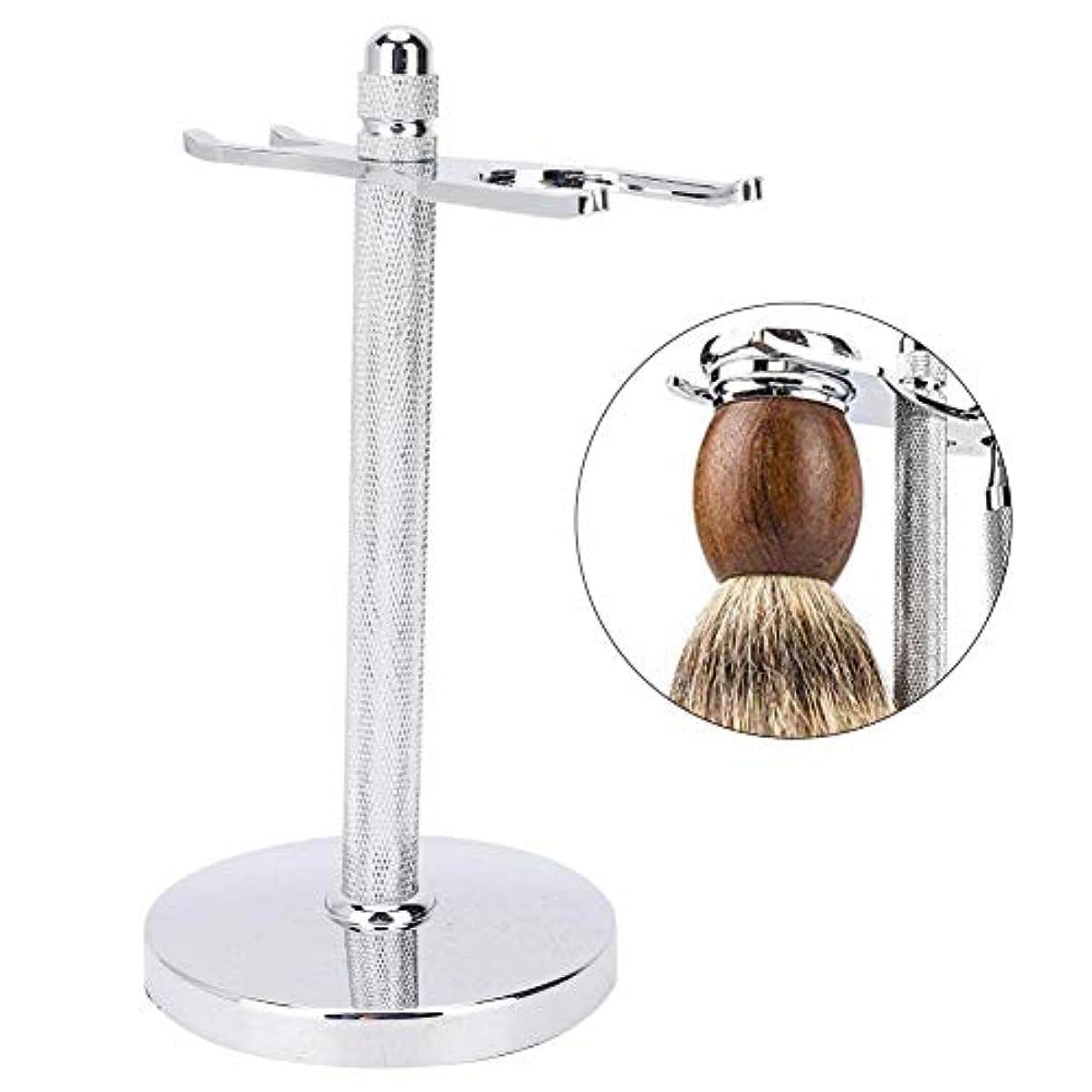 そばにシンジケート誰が手動剃毛ホルダーブラシホルダー亜鉛合金双頭ブラシホルダー取り外し可能なクリーニング製品
