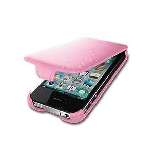 iBUFFALO iPhone4S 『お財布ケータイに早変わり』ICカード対応レザーケース(ピンク) BSIP11PCLPK