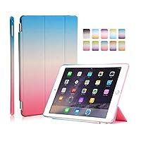 Genry iPad mini 1/2/3用のシンプルでスタイリッシュなレインボーカラーケース (Color : 01)