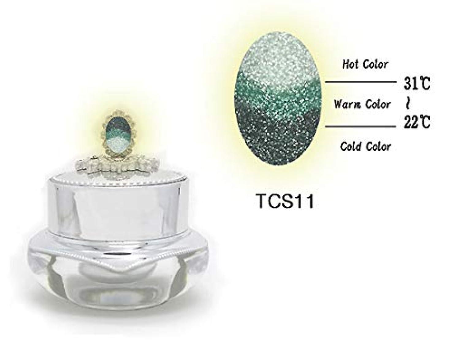 安西燃料縁石KENZICO (ケンジコ) Triple Sugar Gel プロ用5g 【TCS11】 3つの色に変わる夜光ジェル トリプルシュガージェル