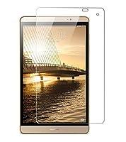 Huawei MediaPad M2 8.0 フィルム Docomo dtab Compact d-02H 保護フィルム 強化ガラス 耐指紋 撥油性 表面硬度9H 厚み2.5D 高透過率液晶保護フィルム 反射低減タイプ 光沢表面仕様 画面保護 指紋防止シート インチ ガラスフィルム