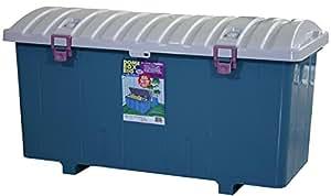 平和工業 屋外収納 ドームボックス ビッグ 160L 日本製 ブルー