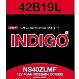 新品 INDIGOバッテリー 42B19L 2年4万㎞保証 (互換:26B17L・28B17L・34B19L・36B20L・38B19L・38B20L・40B19L・40B20L・42B19L・42B20L等)即日発送可能