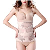3 in 1 Postpartum Support Recovery Belly Wrap Waist/Pelvis Belt Body Shaper Postnatal Shapewear-C-Section