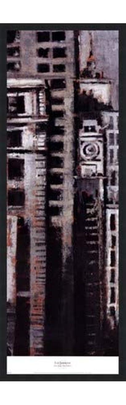 悪因子汚染イタリックニューヨーク、ニューヨークI by Liz Jardine – 12 x 38インチ – アートプリントポスター LE_265304-F101-12x38