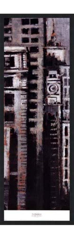 取り組むチーフ悩みニューヨーク、ニューヨークI by Liz Jardine – 12 x 38インチ – アートプリントポスター LE_265304-F101-12x38