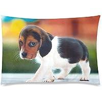 可愛い 子供 かわいい犬 座布団 50cm×72cm