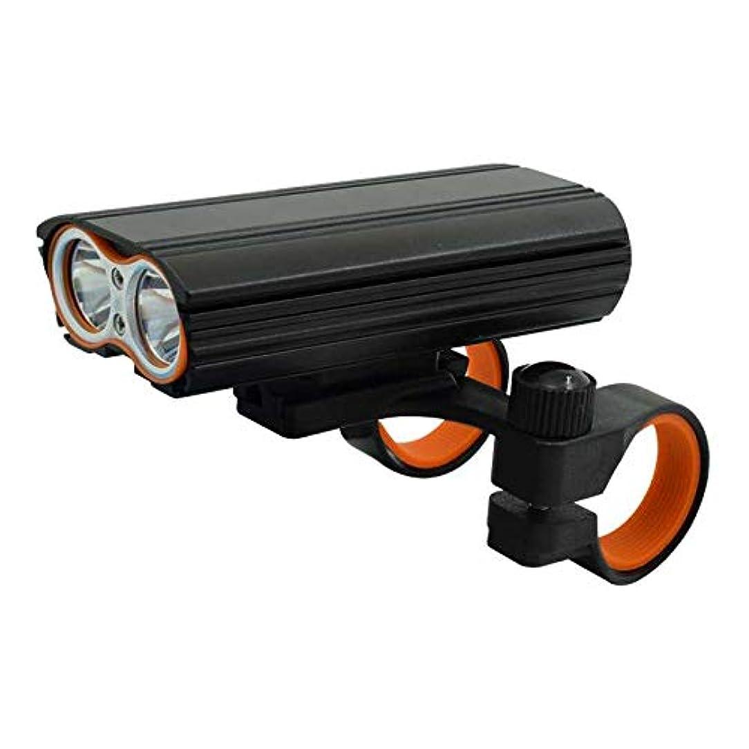 イル壮大な一晩USB充電式LED自転車ライト、LED自転車ライト4モード防水ヘッドランプサイクリングマウンテンバイク懐中電灯ランテルナ