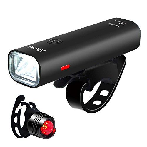 自転車LEDライト 【改良版】 AILUKI フロントライト...