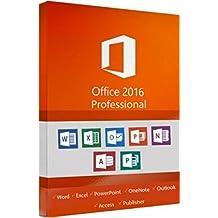 Microsoft Office 2016 Pro (office 2016 pro) 32/64 Bits OEM Product Key - E-Mail delivery …