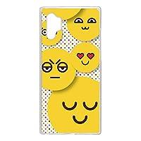 WHITENUTS Galaxy Note10+ SM-N9750 ケース クリア ハード プリント パターンE (cw-465) スマホケース ギャラクシー ノートテンプラス スリム 薄型 カバー スマホカバー WN-PR3856881