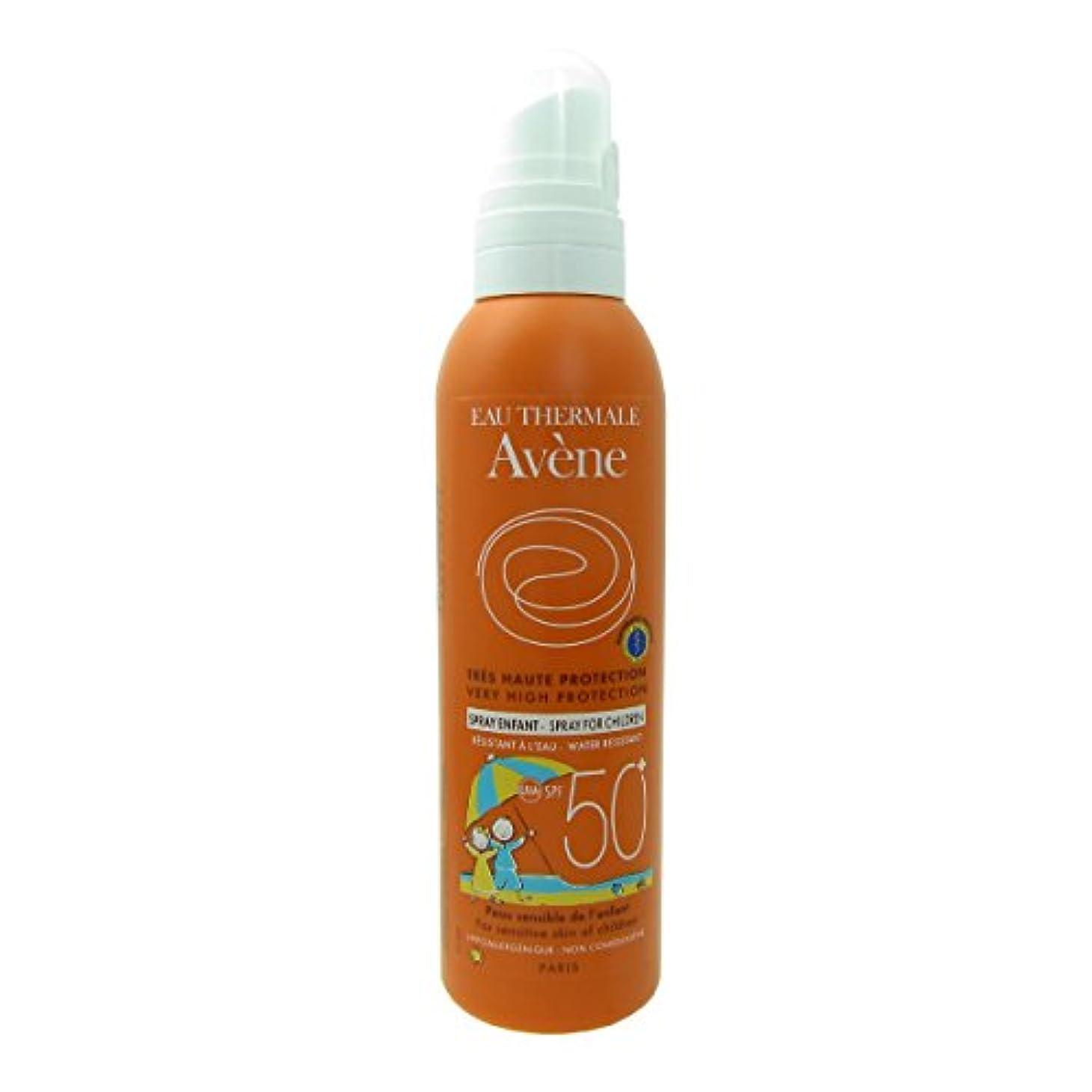 魚シネウィ苦行Avene Sunscreen Spray Kids 50+ 200ml [並行輸入品]