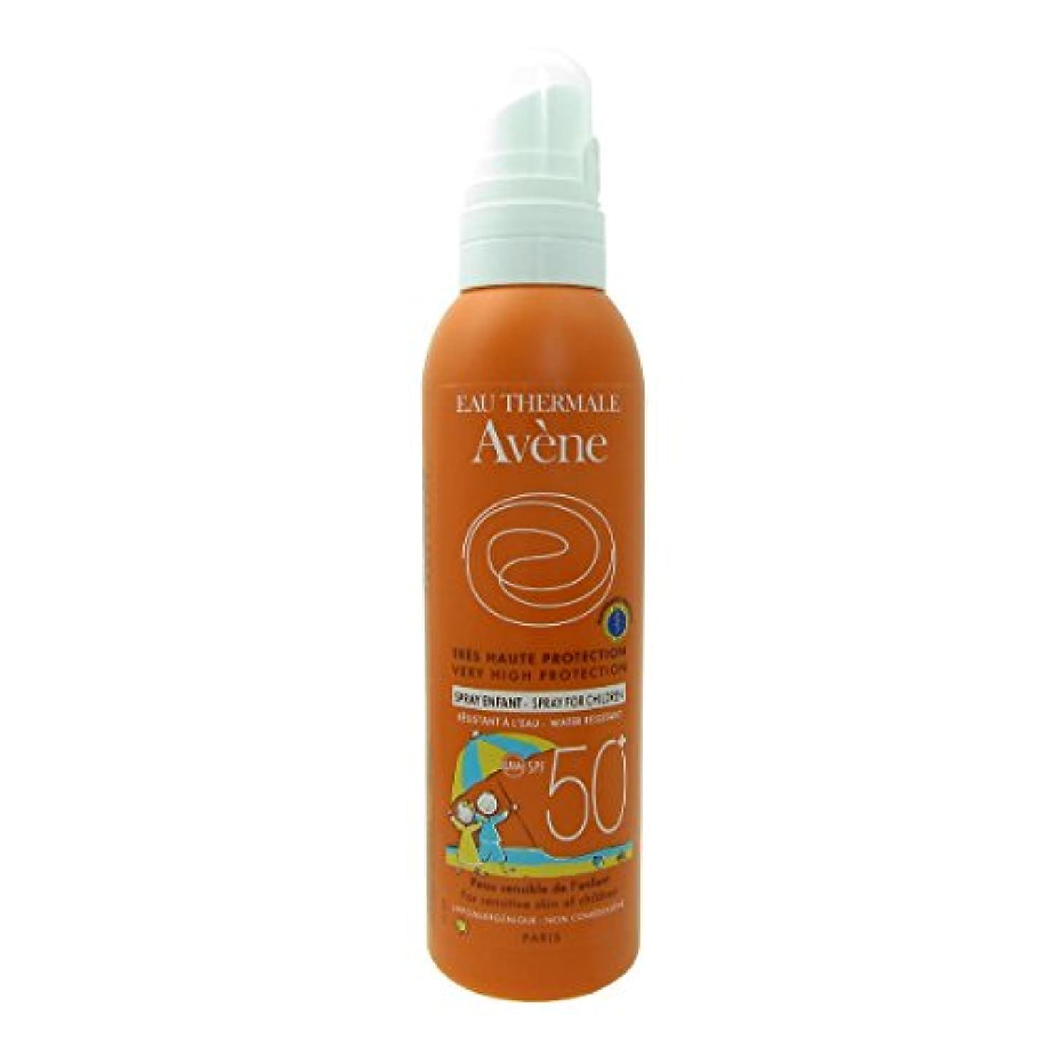 呪い前方へ衝撃Avene Sunscreen Spray Kids 50+ 200ml [並行輸入品]