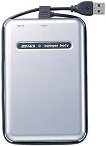 BUFFALO USB2.0 耐衝撃 ポータブルHDD 120GB HD-PHC120U2/UC
