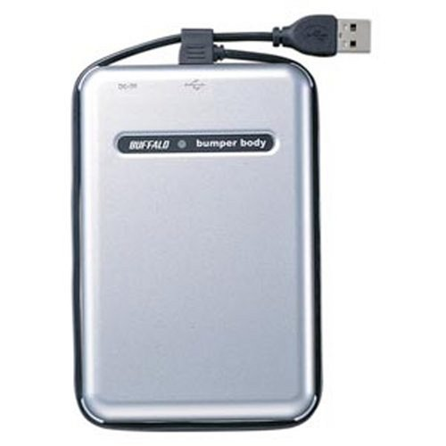 BUFFALO USB2.0 耐衝撃 ポータブルHDD 120GB HD-PHC120U2/UC