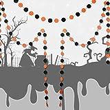 RaiFu ガーランド 吊り紐 パーティー 装飾 パンプキン スパイダー バット ハンギング バナー バングティング ハロウィーン装飾 円形