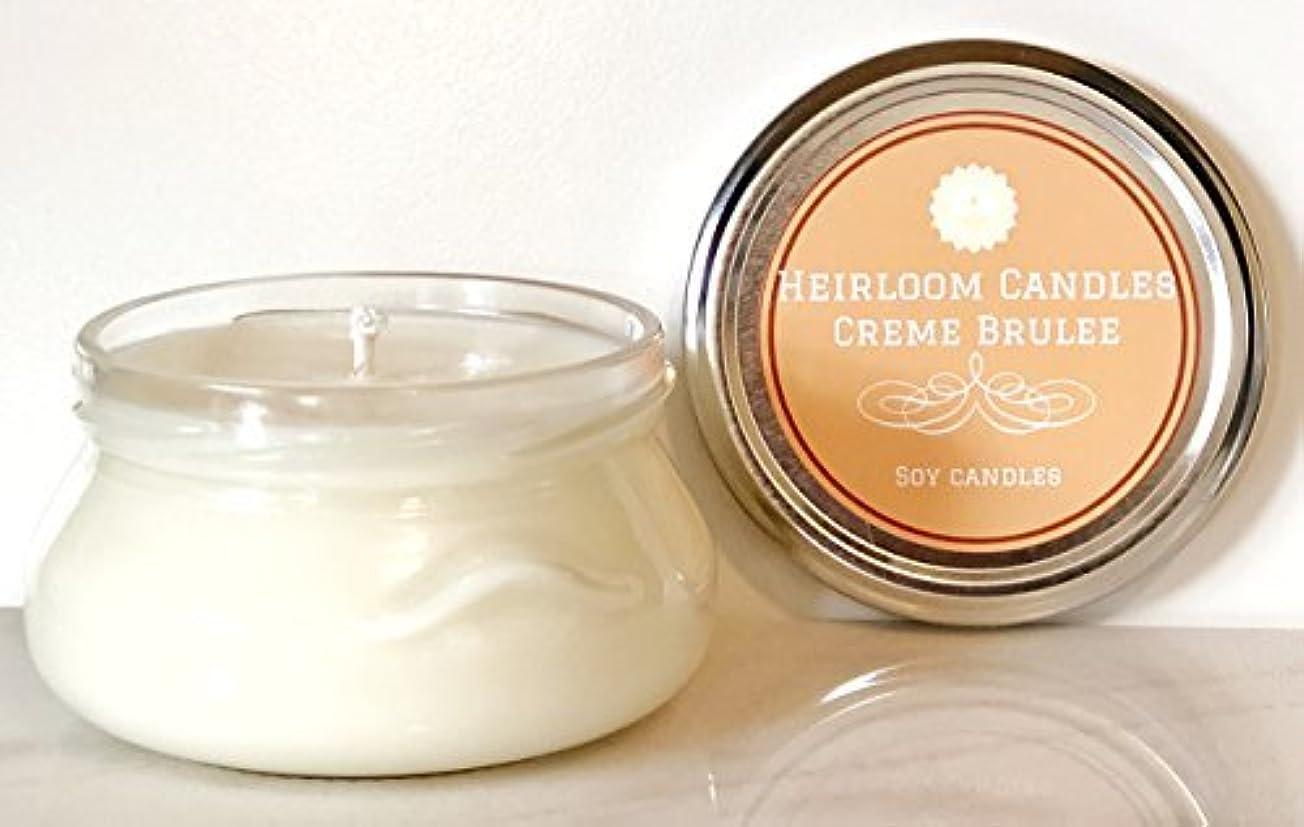 写真を撮る膨らみ広告するCreme Brulee Scented Soy Candle - Food Candle - Handmade 6oz [並行輸入品]