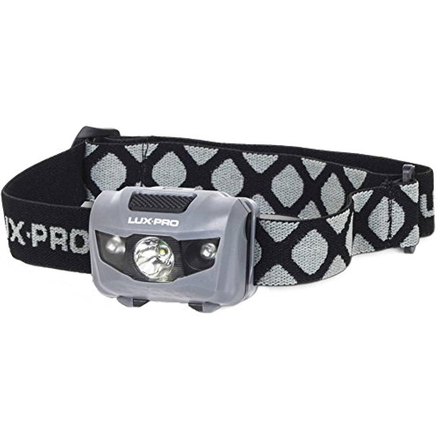 社会へこみハイキングに行くLUX-PRO 130 Lumens 4 Function Headlamp Flashlight, Black by LUX-PRO