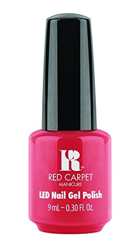 ビジョンセンチメートルアーサーRed Carpet Manicure - LED Nail Gel Polish - Mimosa by the Pool - 0.3oz/9ml