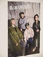 BLUE ENCOUNT ・ DISH//ポスター 雑誌付録 約50×34cm