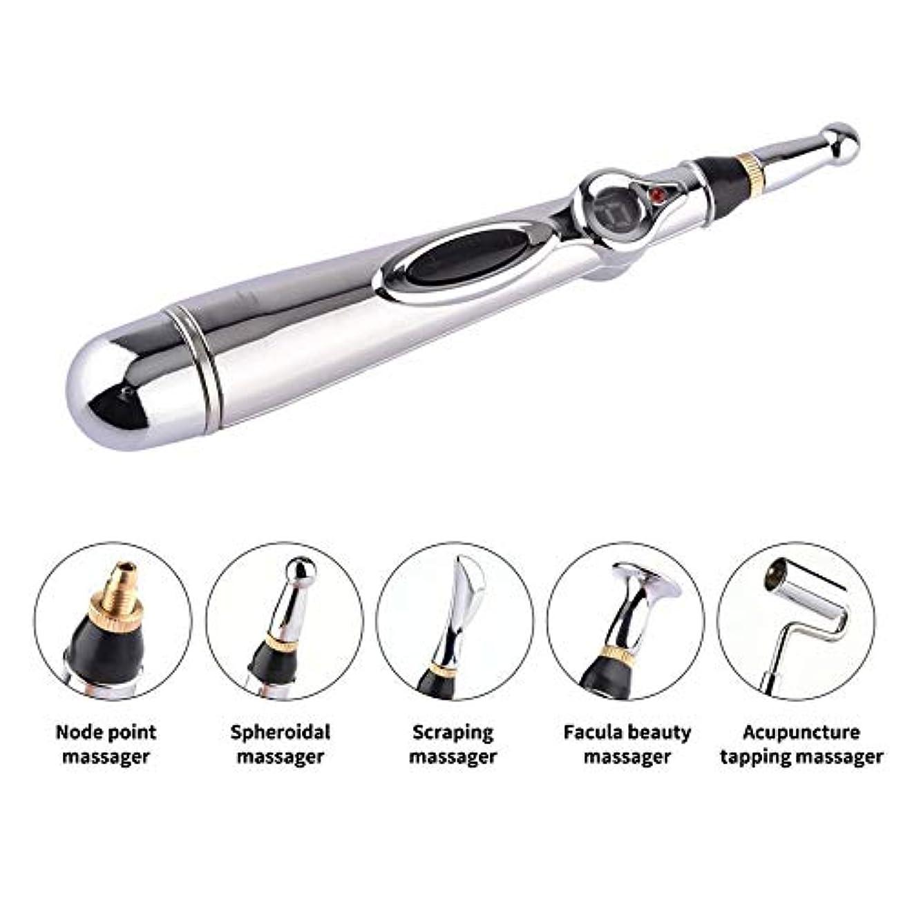 欠如恐れびんFive-Headed Meridian Pen Meridian Physiotherapy Pen Massage Pen Physiotherapy Pen Massage Pen Massage Pen Set