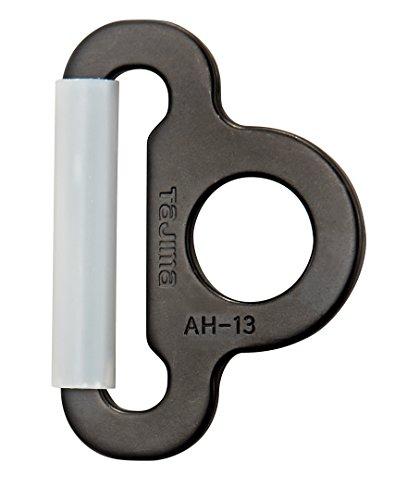 タジマ 安全帯 A環 (ブラック) ベルト幅50mm用 TA-ABK [落下防止 電気工事 高所での安全作業]