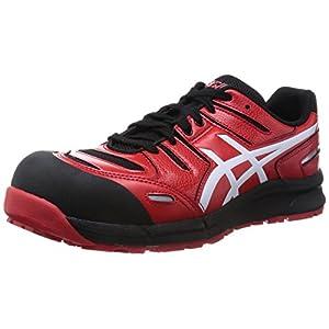 [アシックスワーキング] 安全靴 作業靴 ウィンジョブCP103 レッド/ホワイト 26.5 cm