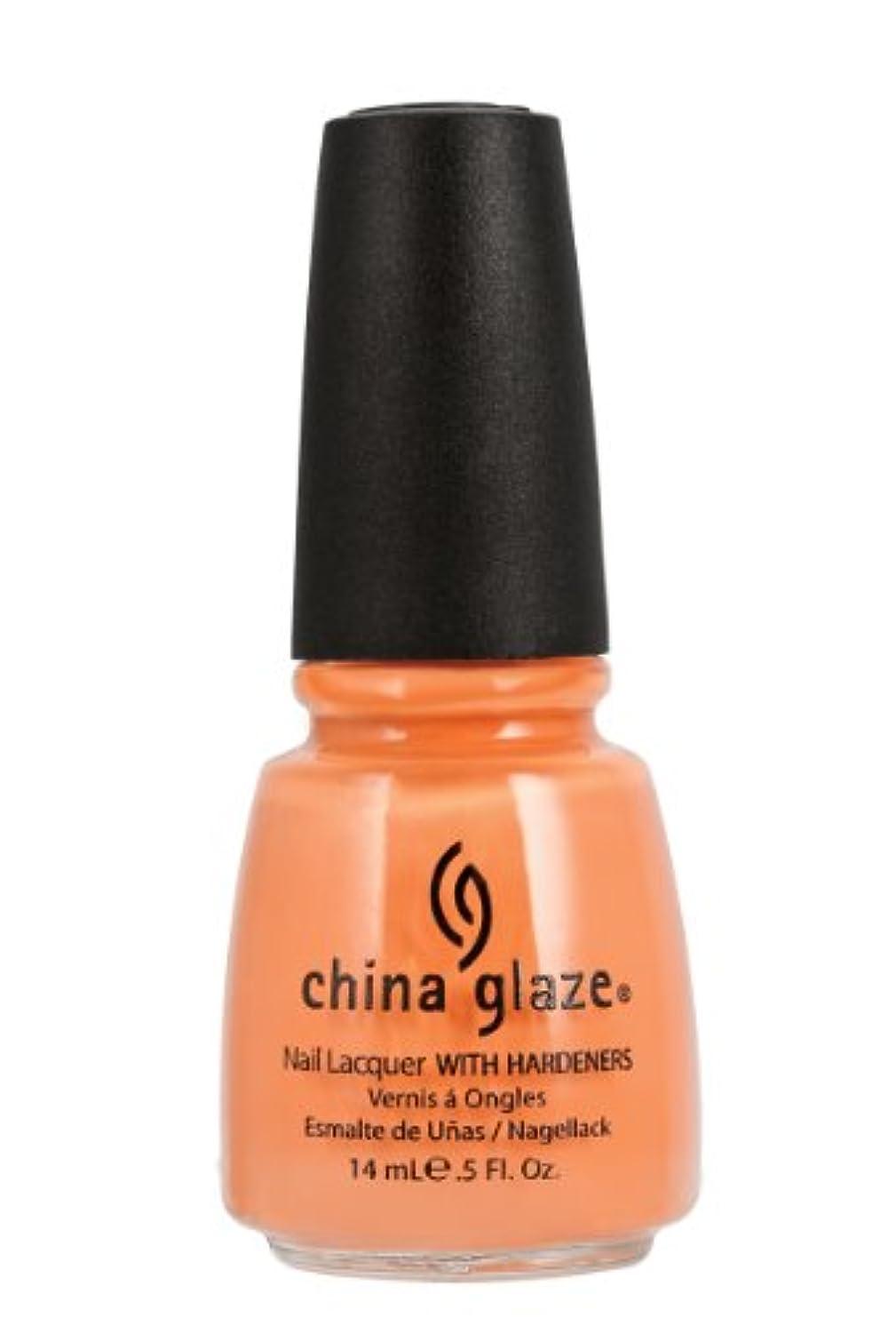 不倫デクリメントメール[China Glaze] 80938 ピーチー?キーン
