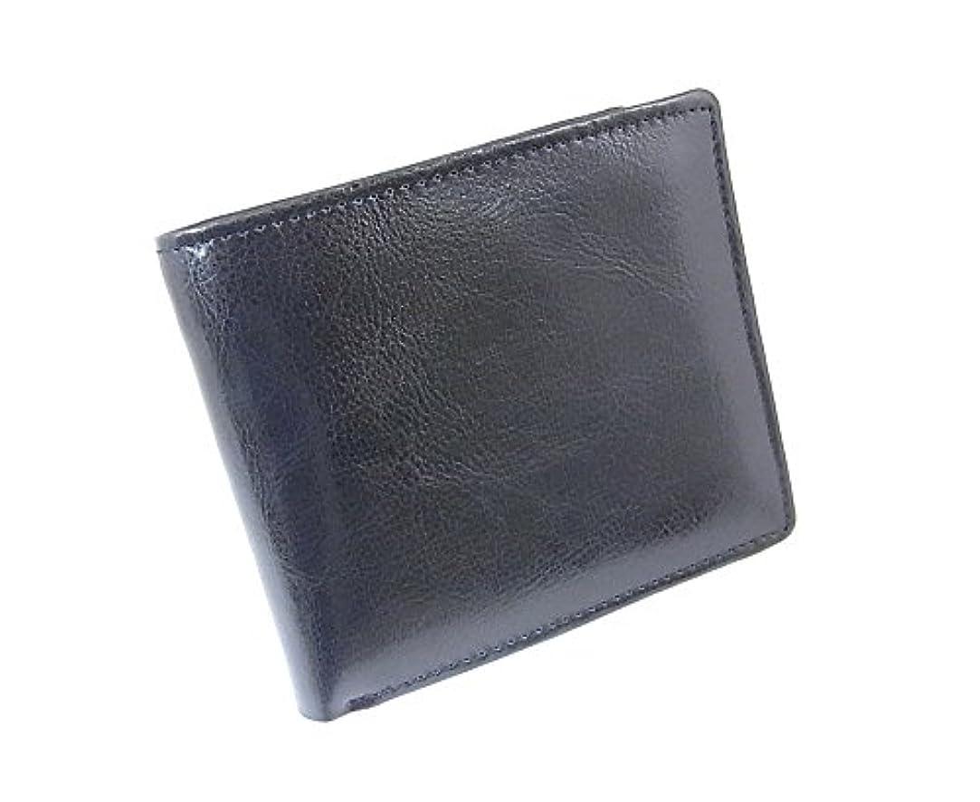 ウェーハ問い合わせケニア二つ折り短財布 高級牛革 BARONE バローネ bn2033 bk 黒 メンズ 二つ折り財布