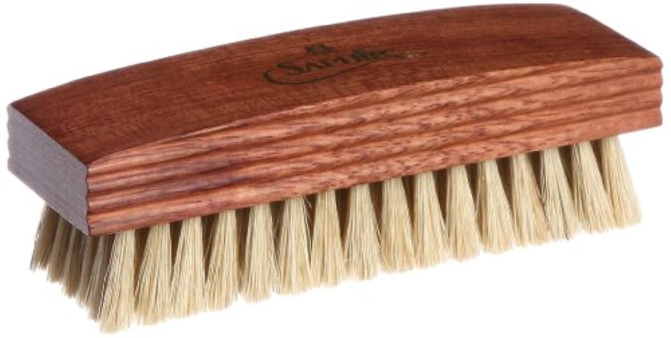 エンゲージメント批判するサンプル[サフィールノワール] ブラシ ポリッシャーブリストルブラシ 豚毛 12㎝ 靴磨き 磨きこみ 浸透 メンズ 9552641