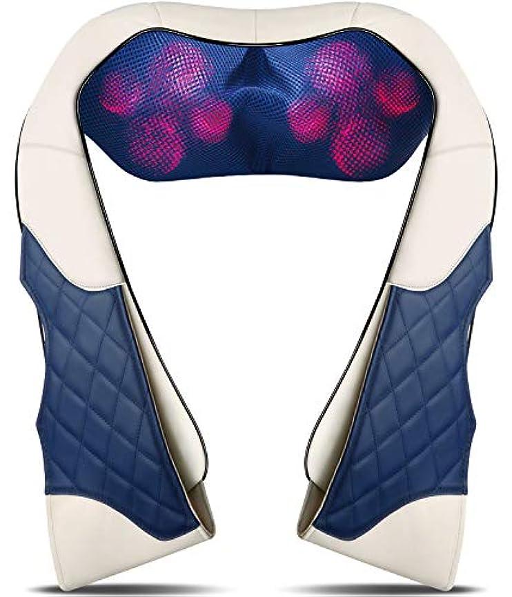 叱るれる正確さBack Massager with Heat - Shiatsu Neck and Back Massager - Electric Back Massage Pillow with Deep Tissue Kneading...