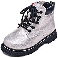 Unparalleled beauty Boy's Girl's Waterproof Short Ankle Boot Cute Casual Shoes