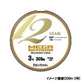 ダイワ(Daiwa) メガセンサー 12ブレイド 100m 5号(連結)