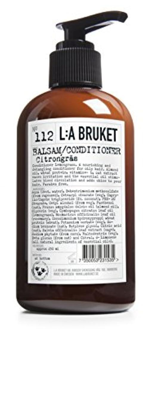 リングレットそよ風くしゃくしゃL:A Bruket No. 112コンディショナーレモングラス250ml