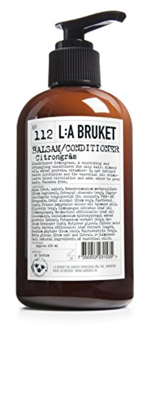 航空便文句を言う硬いL:A Bruket No. 112コンディショナーレモングラス250ml