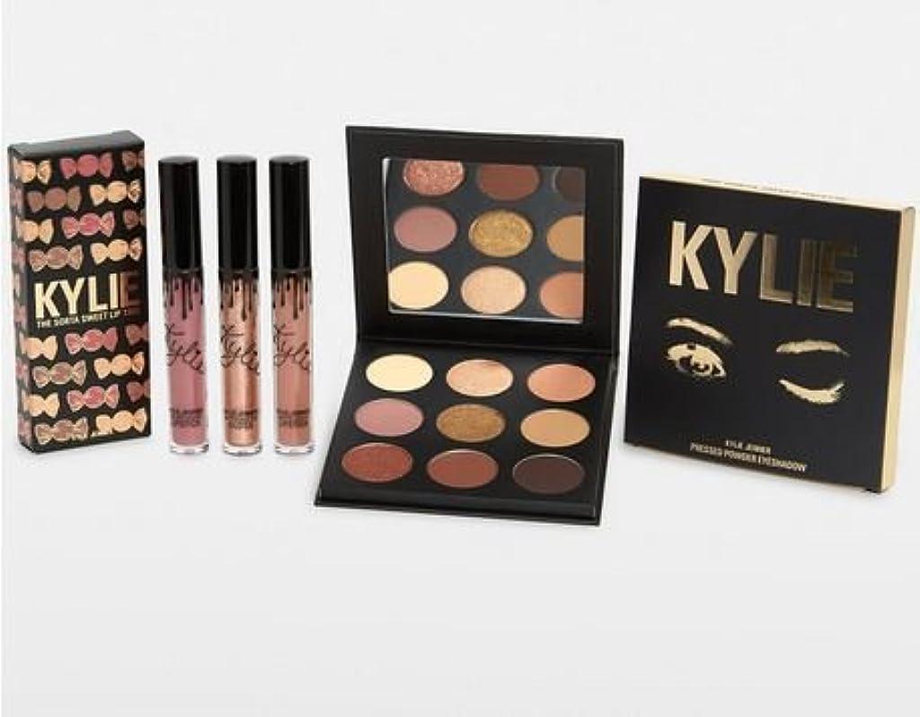 排気霜偽Kylie Cosmetics The Sorta Sweet Bundle シャドウパレットとリップのセット