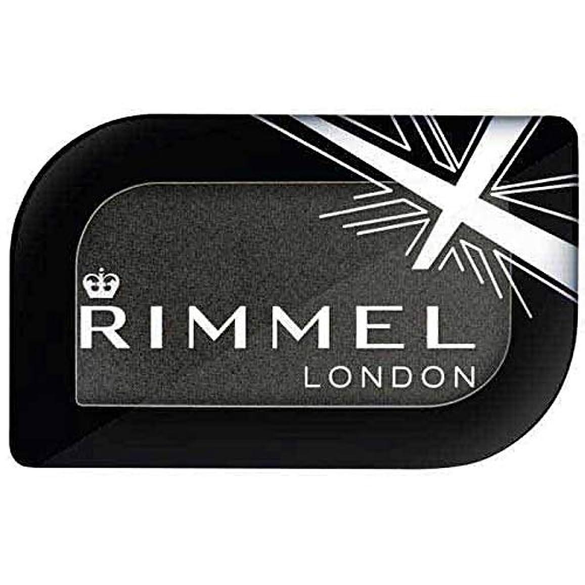 感動する説明的蒸気[Rimmel ] リンメルロンドンGlam'Eyesモノアイシャドウブラックフェンダー5.2グラム - Rimmel London Glam'eyes Mono Eyeshadow Black Fender 5.2g...