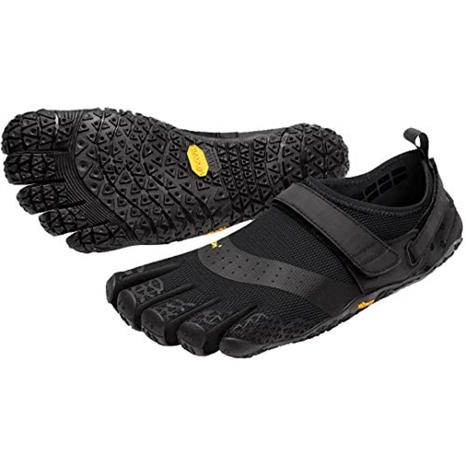 神経衰弱宇宙飛行士配分[ヴィブラム] メンズ 男性用 シューズ 靴 スニーカー 運動靴 V-Aqua - Black [並行輸入品]