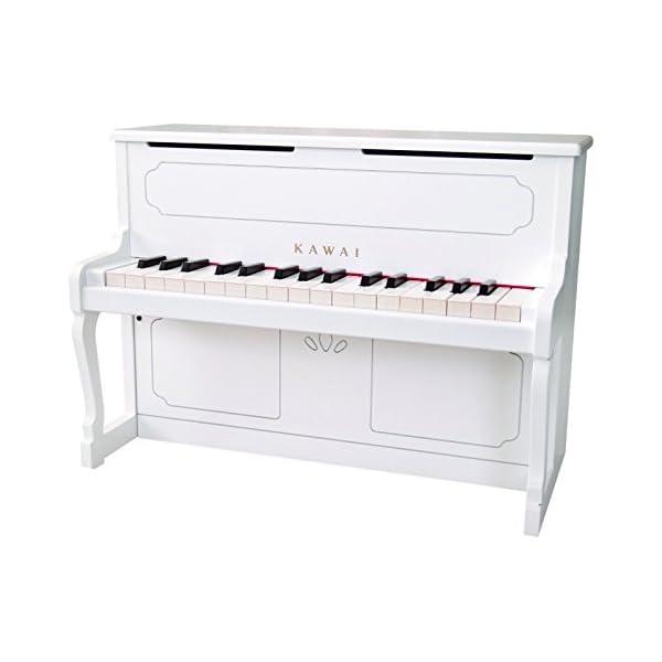 KAWAI アップライトピアノ ホワイトの商品画像