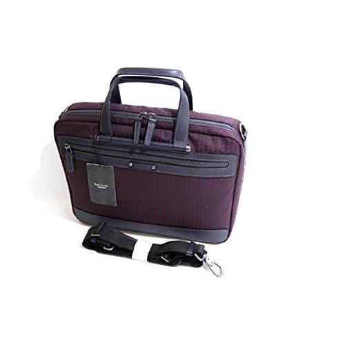 ポールスミス Paul Smith PCケース ビジネスバッグ パープル ハウンドトゥースチェック 571607 新品正規品