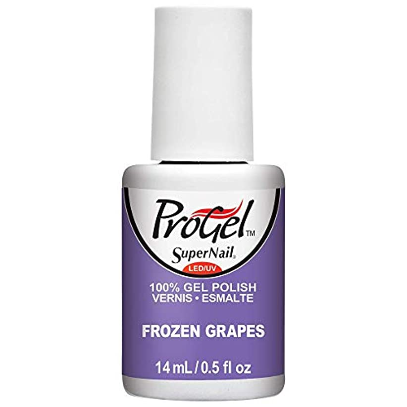 宝石芝生平等SuperNail ProGel Gel Polish - Frozen Grapes - 0.5oz / 14ml