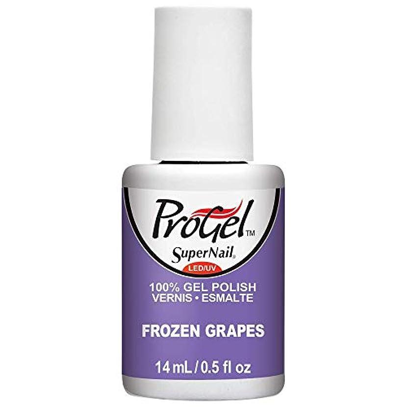 差別するシプリー視力SuperNail ProGel Gel Polish - Frozen Grapes - 0.5oz / 14ml