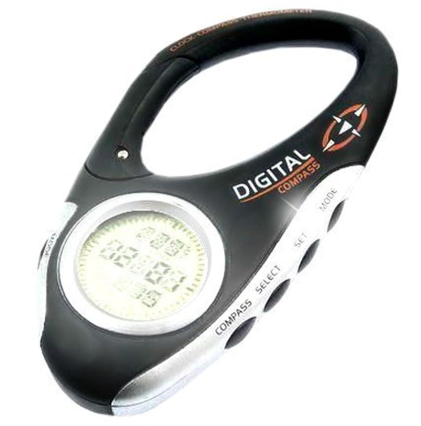 無意識賠償受信zmayastar スキー 登山 で 携帯 できる デジタル コンパス 温度計 時計 搭載 LH-215