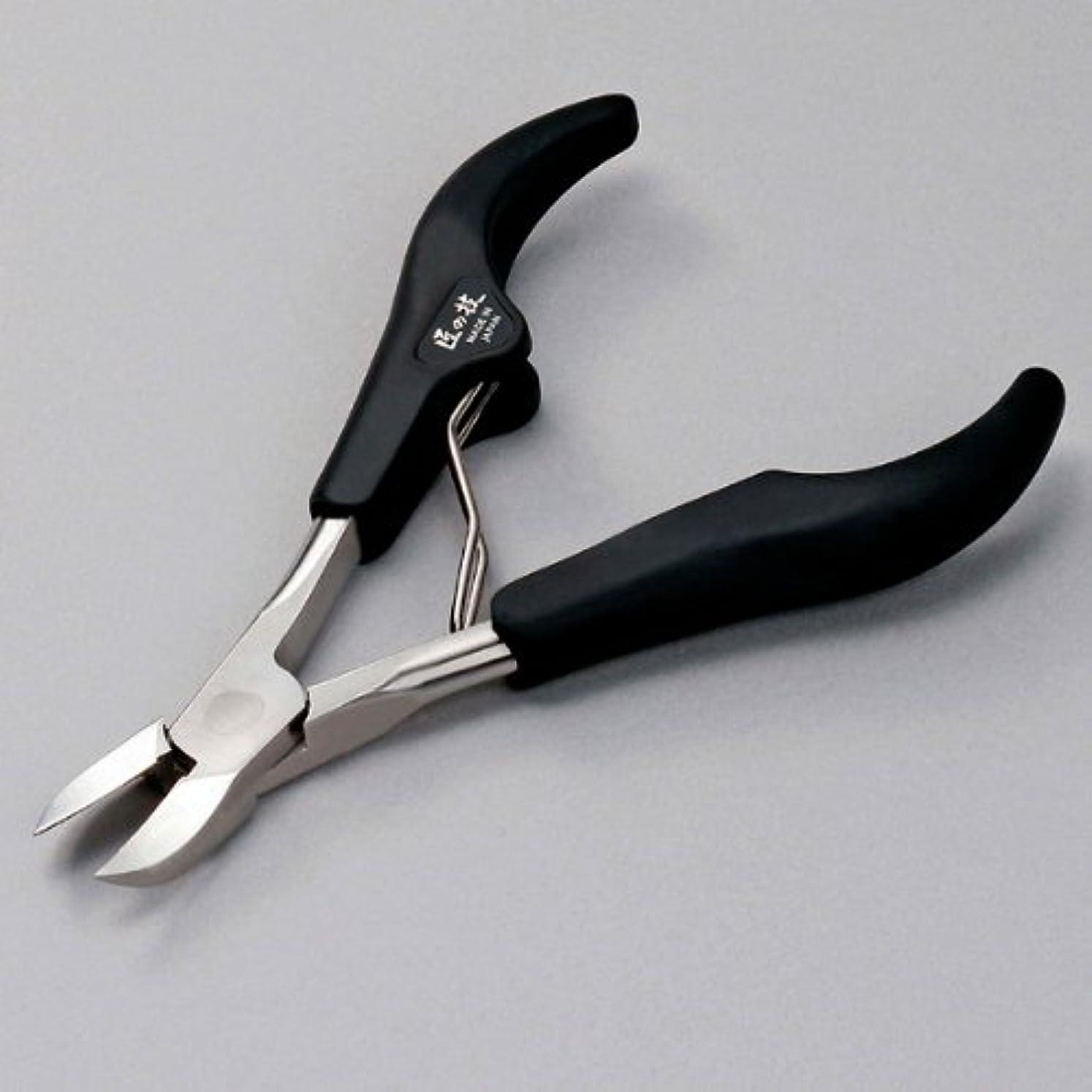 すぐに自治的青【日本製】匠の技 クラシック型ニッパー爪切り