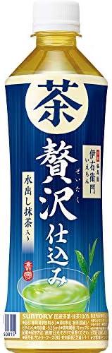 サントリー 緑茶 伊右衛門 贅沢仕込み お茶 525ml ×24本