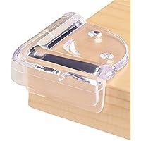 【Ksizen ショップ】コーナークッション コーナーガード 透明 粘着力が抜群 両面テープ付き テーブルや戸棚などの家具のエッジを保護して …