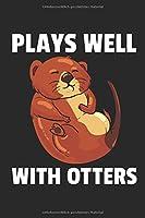 Otter Notizbuch: Otter Liebhaber Notizbuch / Notizheft / Notizblock A5 (6x9in) Dotted Notebook / Punkteraster / 120 gepunktete Seiten